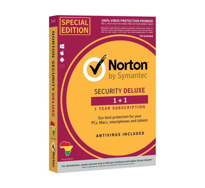 Norton Security Deluxe (2 Device)