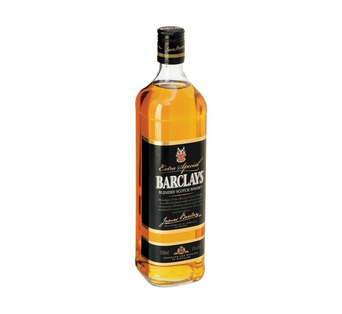 Barclays Scotch Whisky (1 x 750ml)