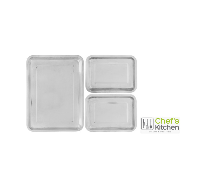 Chef's Kitchen 3-Piece Oven Tray