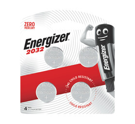ENERGIZER 4 PACK Coin Batteries