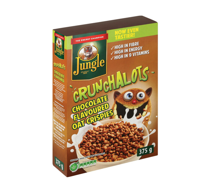 Jungle Crunchalots Chocolate (1 x 375g)