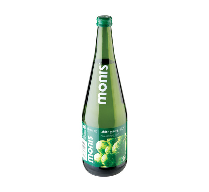 Monis Sparkling Fruit Juice White Grape White Grape (1 x 750ml)