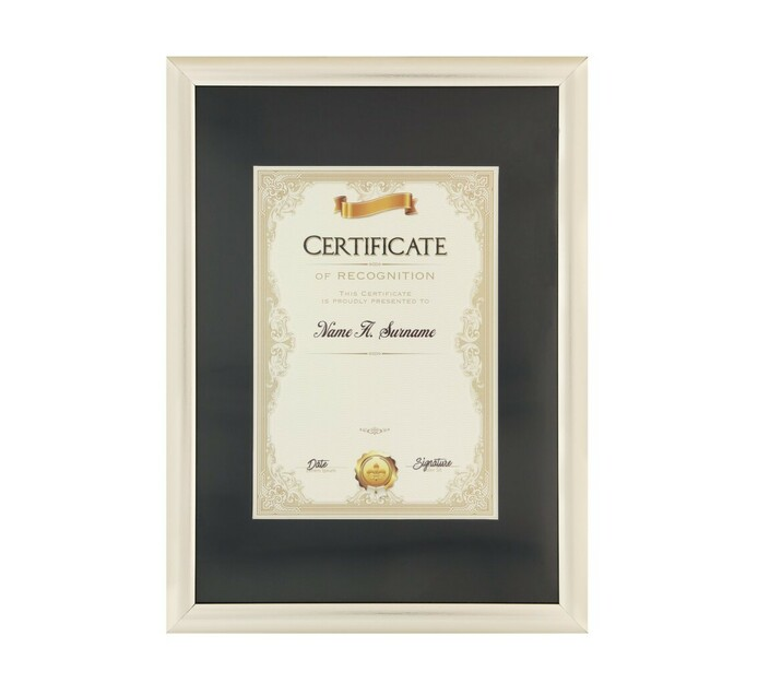 70 x 335 x 460 mm Certificate Frame