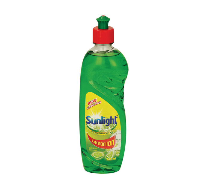 Sunlight Dishwashing Liquid (6 x 400ml)