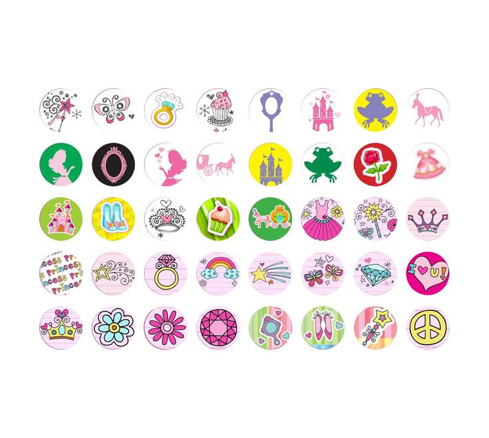 Sticker Fun Refill - Princess Theme