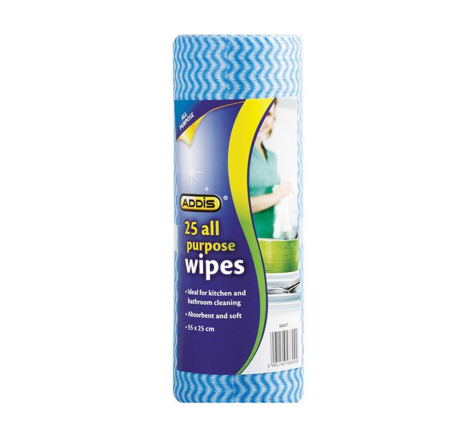 Addis All Purpose Wipes 25's