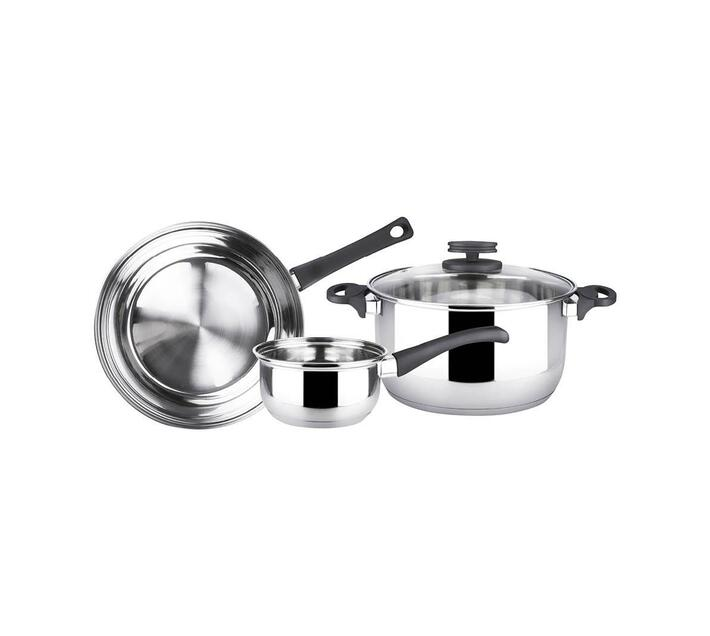 Magefesa Style st/st 4pce cookware set