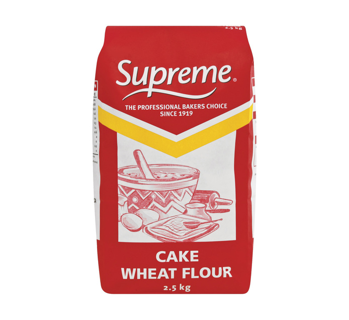 Supreme Cake Wheat Flour (1 x 2.5kg)
