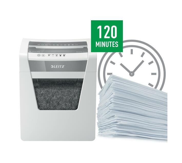 Leitz IQ Office Cross-Cut P4 Shredder