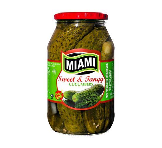 Miami Pickel Cucumber Sweet & Tangy (1 x 760g)