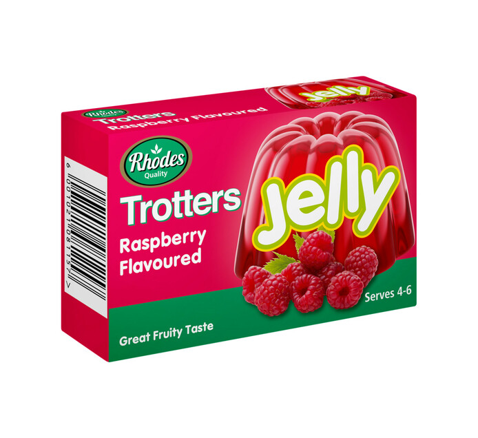 Trotters Jelly Raspberry (1 x 40g)