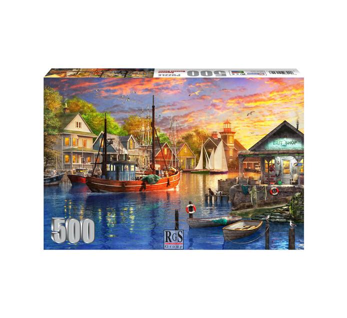 500-piece American Harbour Sunset
