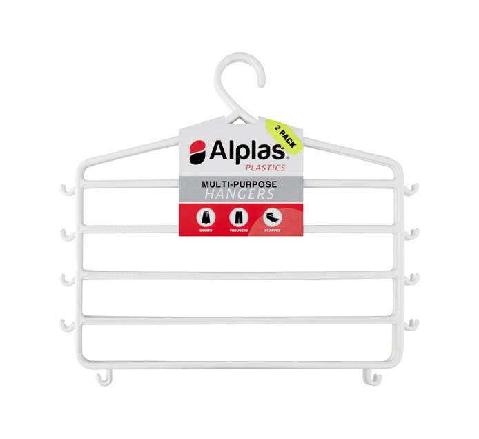 Alplas 2 Pack Multi Purpose Hanger