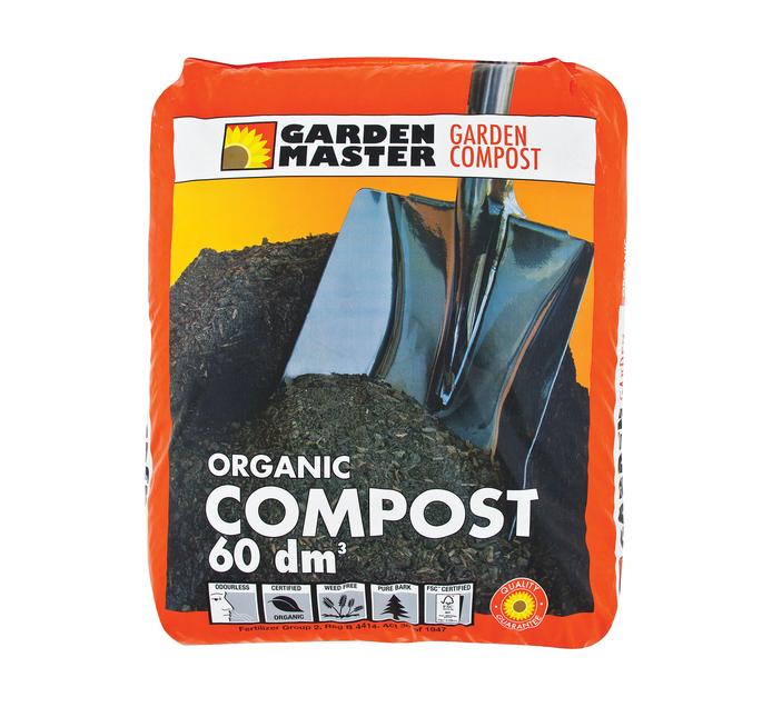 GARDENMASTER 60dm Compost
