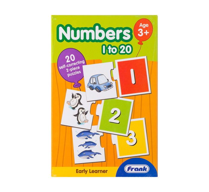 Frank Early Learner Numbers