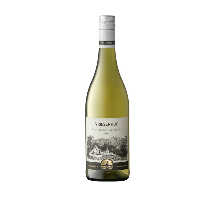 Vriesenhof Unwooded Chardonnay (1 x 750ml)