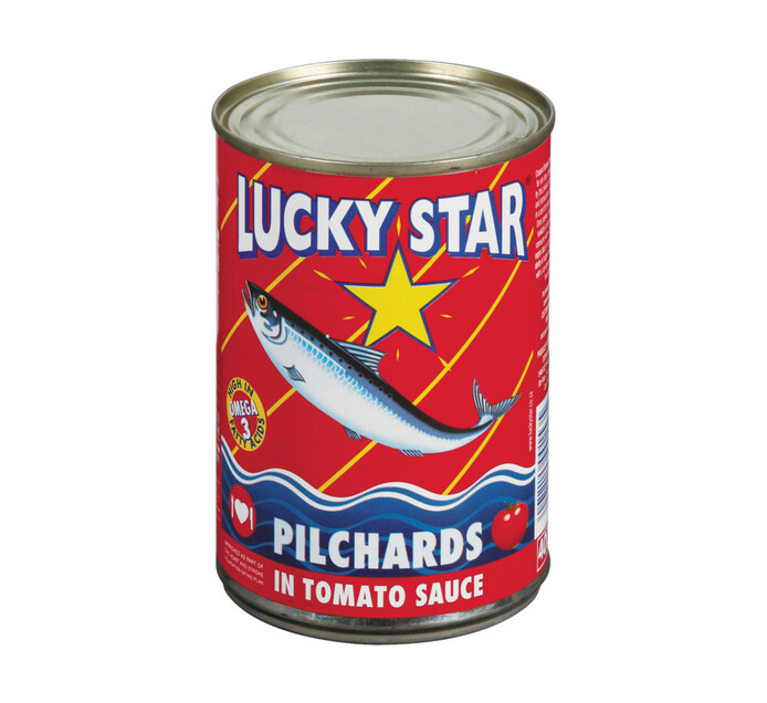 Lucky Star Pilchards in Tomato Sauce (12 x 400g)
