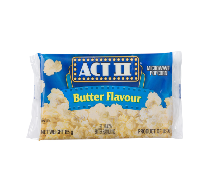Act 11 Microwave Popcorn Butter (1 x 85g)