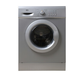 AEG 6KG FRONT LOAD WASHING MACHINE SLVR