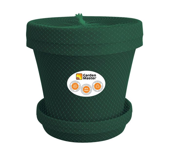 Gardenmaster 2-Piece 35 cm Super Plant Pot and Saucer Set