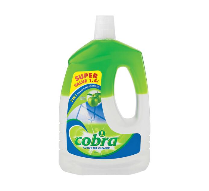 COBRA 2 IN 1 TILE CLEANER APPLE 1.5LT