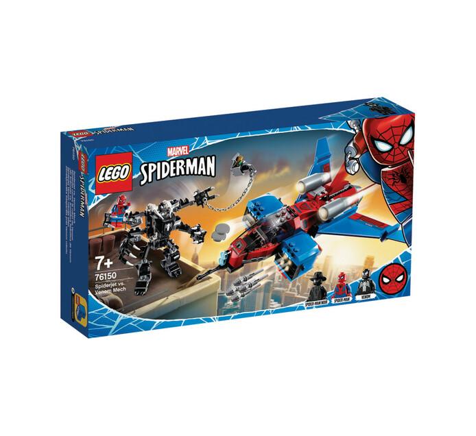 LEGO SUPER HEROES SPIDERJET VS VENOM