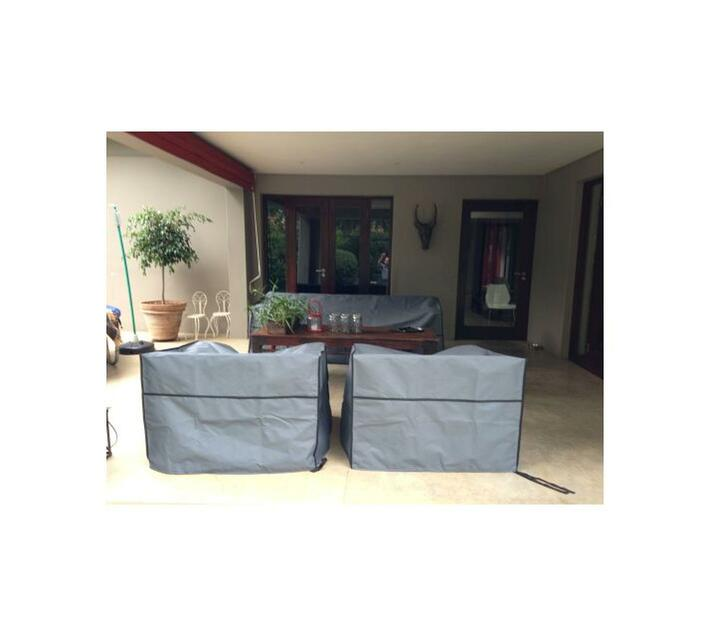 Patio Solution Covers Armchair Cover - Dove Grey Ripstop UV 260grm