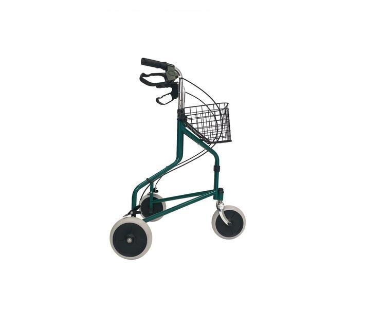Three wheel walker/Rollator/Wheelchair with Handbrake