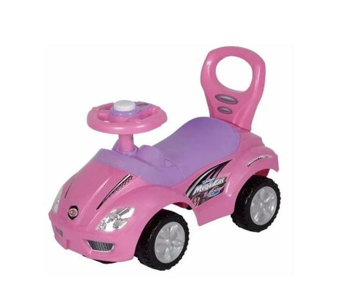 Pretty in Pink Ride-On Mega Car Deluxe