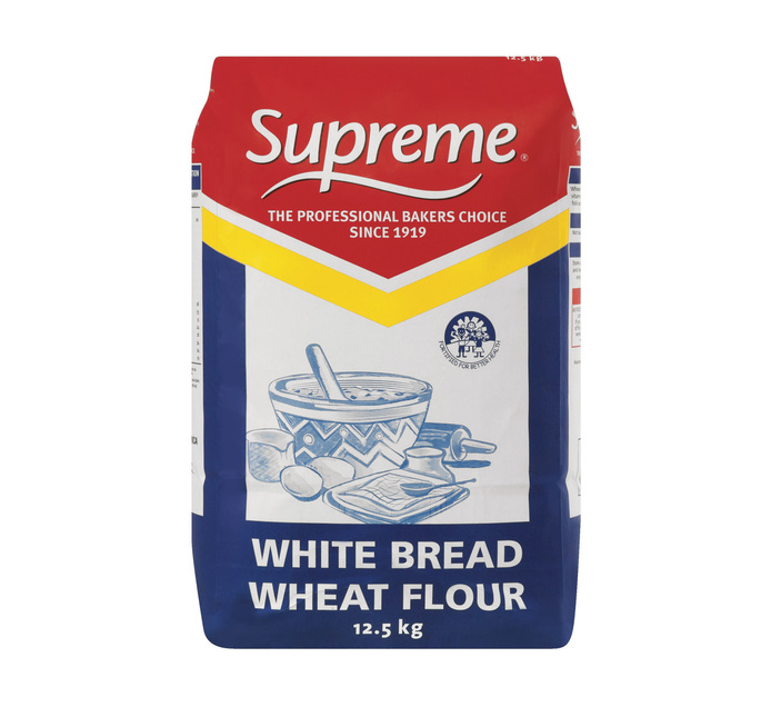 SUPREME WHITE BREAD FLOUR 12.5KG