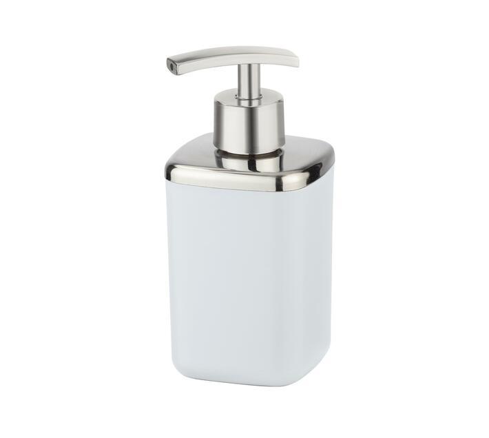 WENKO Soap Dispenser - Barcelona Range - White - Unbreakable - 370ml