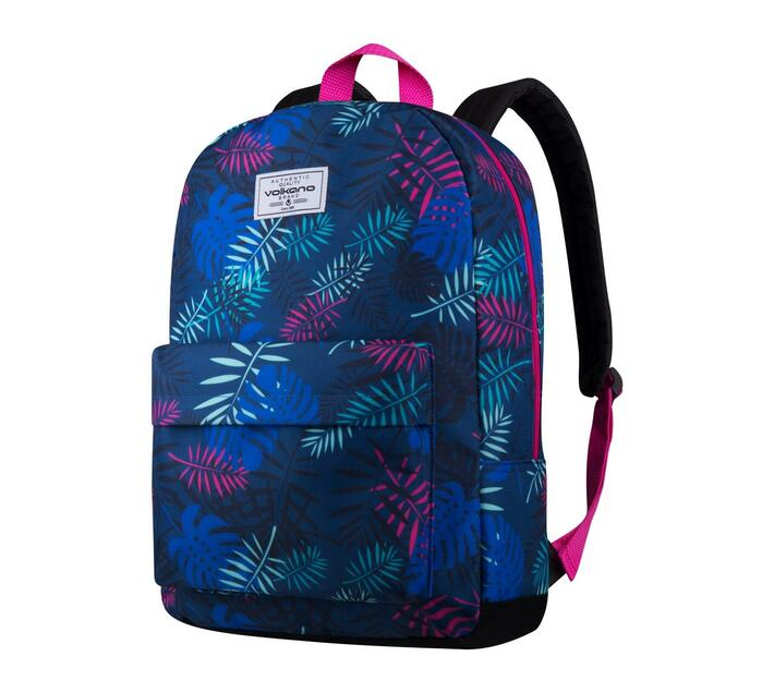 Volkano Diva Series 15.6` Backpack in Tropical Blue with Elasticized Laptop Compartment and Adjustable Shoulder Straps