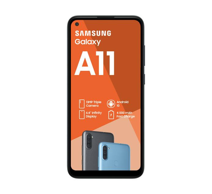 Samsung Galaxy A11 Dual Sim Black