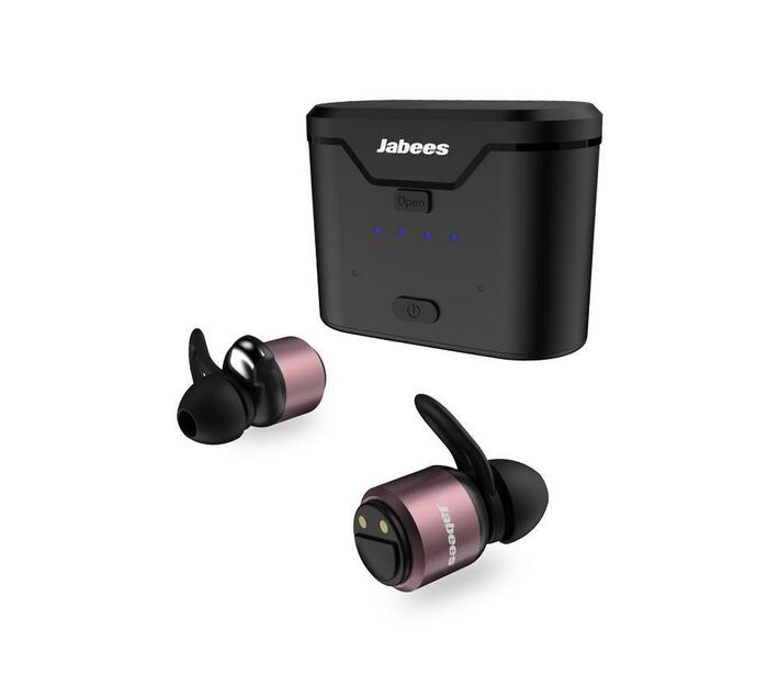 Jabees BTwins True Wireless Stereo Aluminum Earbuds – Rose Gold