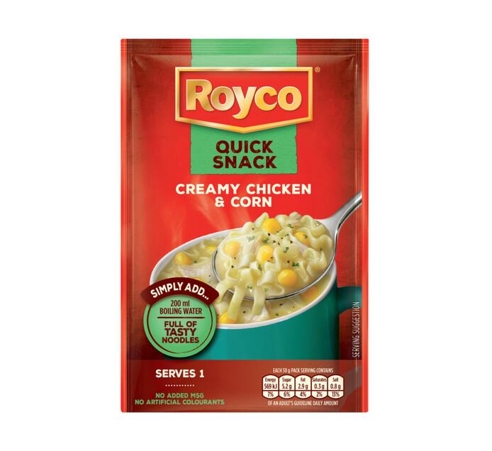 Royco Quick Snack Creamy Chicken And Corn (1 x 38g)
