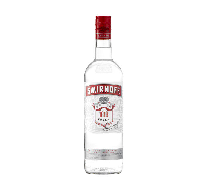 Smirnoff 1818 Vodka (12 x 750ml)