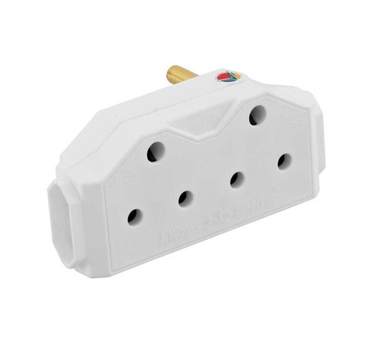 Selectrix 6 Way Multi-plug with 3 m Extension Cord