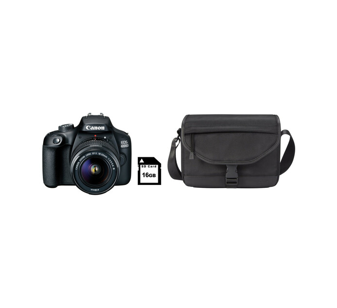 Canon 4000D DSLR Camera Starter Bundle