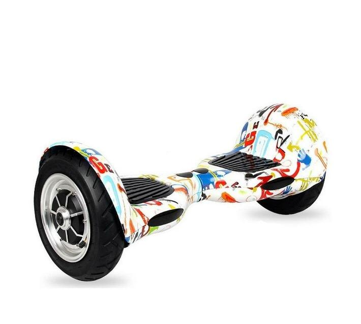 10` Bluetooth Off-Road hoverboard - White Graffiti