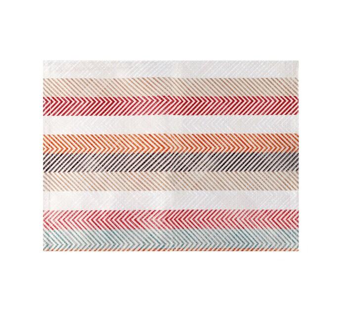 Linen House 33 x 45 cm Bright Stripe Placemat