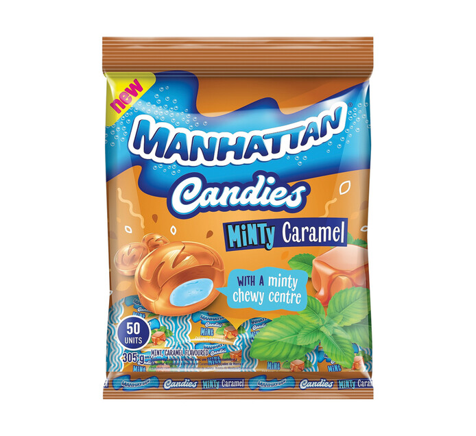 Manhattan Candies MINTY CARAMEL (12 x 50's)