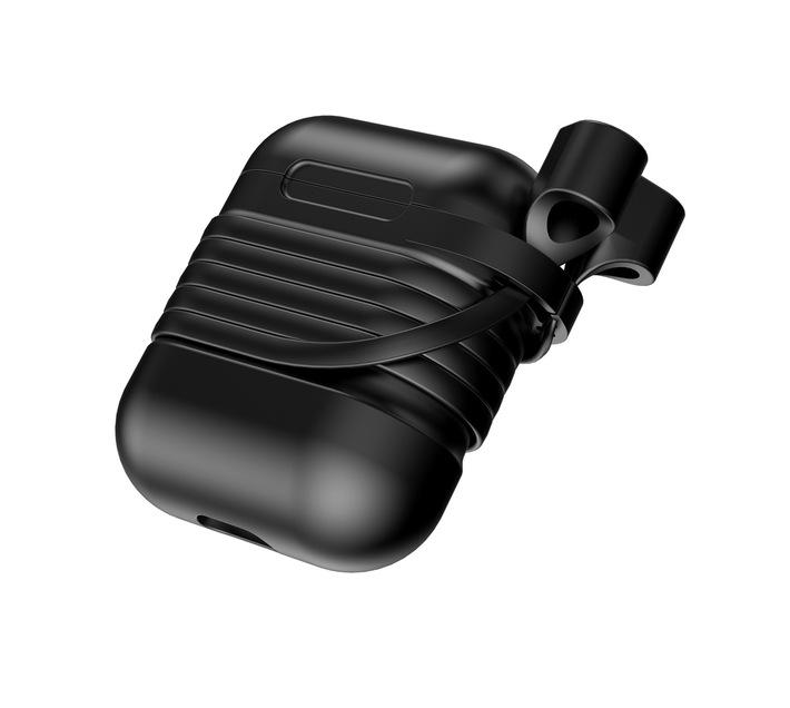 Baseus Anti-Loss Strap & case for Apple AirPods - Black