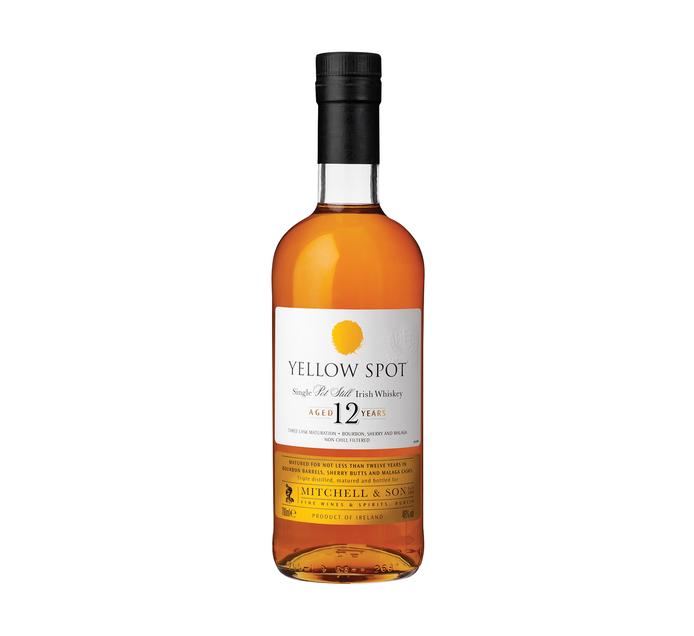 Yellow Spot 12YO Irish Whisky (1 x 750ml)