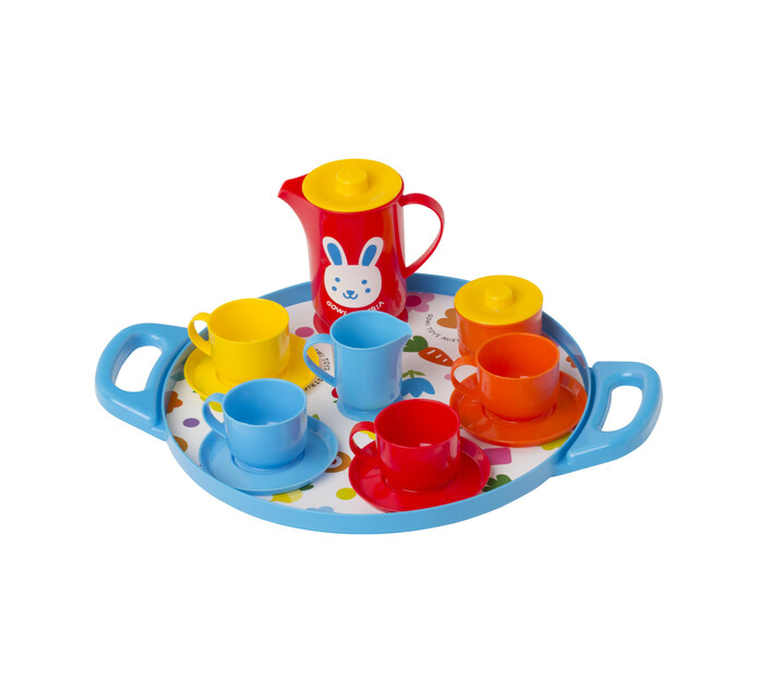Gowi Coffee Set on Round Tray
