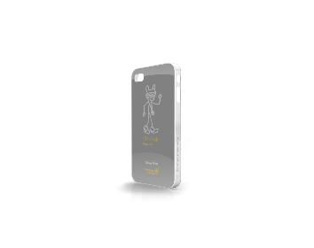 Whatever It Takes Tough Shield iPhone 4/4S Cover (Kanye West Grey)