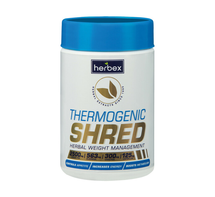 Herbex 60 capsules Thermogenic shred