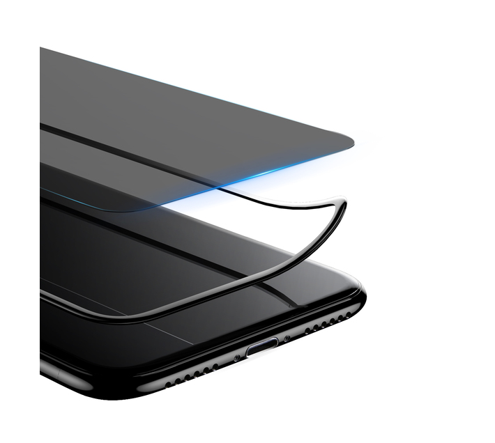 Baseus 0.23mm Privacy Curved Glass Screen Protector for iPhone 11 / XR