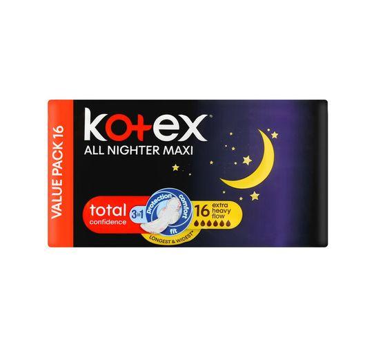 Kotex Overnight Pads (1 x 16's)
