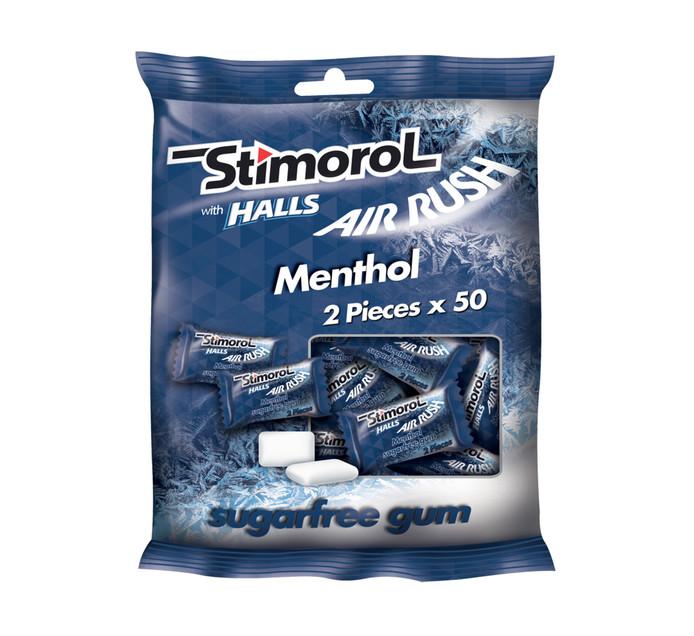 Stimorol Sugar Free Gum Menthol (50 X 2PC)