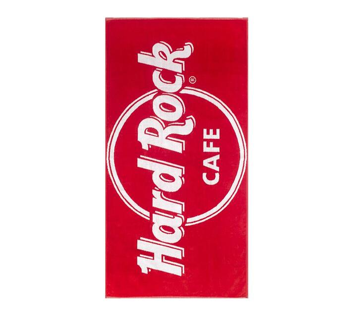 Hard Rock Cafe Beach Towel 90x180 730gms - Red